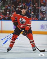 Leon Draisaitl Signed Oilers 8x10 Photo (JSA COA) at PristineAuction.com