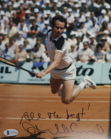 """John McEnroe Signed 8x10 Photo Inscribed """"All the Best"""" (Beckett COA) at PristineAuction.com"""