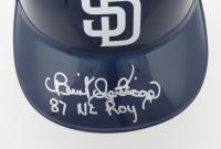 "Benito Santiago Signed Padres Full-Size Batting Helmet Inscribed ""87 NL ROY"" (Schwartz Sports COA) at PristineAuction.com"