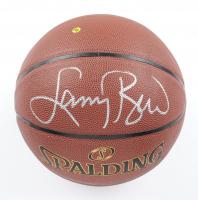 Larry Bird Signed NBA Basketball (Schwartz Sports COA & Bird Hologram) at PristineAuction.com