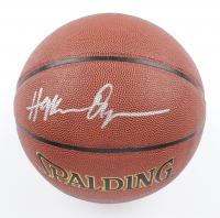 Hakeem Olajuwon Signed NBA Basketball (Schwartz Sports COA) at PristineAuction.com