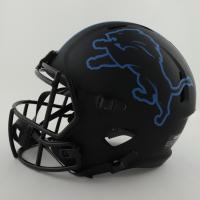Barry Sanders Signed Lions Full-Size Eclipse Alternate Speed Helmet (Schwartz COA) at PristineAuction.com