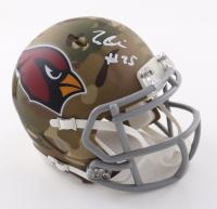 Zaven Collins Signed Cardinals Camo Alternate Speed Mini Helmet (Beckett Hologram) at PristineAuction.com