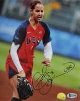 """Cat Osterman Signed Team USA 8x10 Photo Inscribed """"USA"""" (Beckett COA) at PristineAuction.com"""
