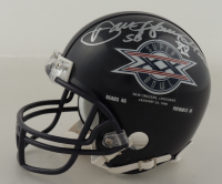 "Dan Hampton Signed Bears Super Bowl XX Commemorative Mini Helmet Inscribed ""SB XX"" (Schwartz Sports COA) at PristineAuction.com"