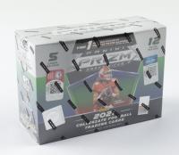 2021 Panini Prizm Draft Picks Football Mega Box with (12) Packs (See Description) at PristineAuction.com