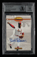 Bob Gibson Signed 1993 Ted Williams #90 (BGS Encapsulated) at PristineAuction.com