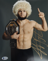 Khabib Nurmagomedov Signed UFC 8x10 Photo (Beckett COA) at PristineAuction.com