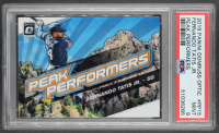 Fernando Tatis Jr. 2019 Donruss Optic Peak Performers #15 RC (PSA 9) at PristineAuction.com