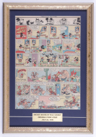 "Vintage Disney's ""Walt Disney's Mickey Mouse"" 14x20 Custom Framed Comic Strip Display (See Description) at PristineAuction.com"