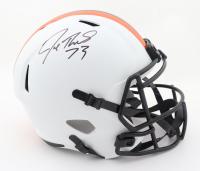 Joe Thomas Signed Browns Full-Size Lunar Eclipse Alternate Speed Helmet (Schwartz Hologram) at PristineAuction.com
