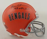"Ken Anderson Signed Bengals Mini Helmet Inscribed ""1981 NFL MVP"" (Schwartz COA) at PristineAuction.com"