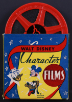 """Walt Disney's """"Silly Symphony Just Dogs"""" 15x27 Custom Framed 8mm Film Reel Display with Original Box (See Description) at PristineAuction.com"""