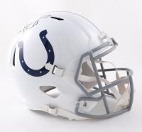 Marlon Mack Signed Colts Full-Size Speed Helmet (JSA Hologram) (See Description) at PristineAuction.com