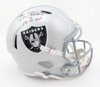 "Jim Plunkett Signed Raiders Full-Size Speed Helmet Inscribed ""SB XV MVP"" (Schwartz COA) at PristineAuction.com"