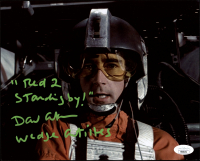 """David Ankrum Signed """"Star Wars: Episode IV – A New Hope"""" 8x10 Photo Inscribed """"Red 2 Standing By!"""" & """"Wedge Antilles"""" (JSA COA) at PristineAuction.com"""