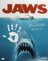 """Susan Backlinie Signed LE """"Jaws"""" 16x20 Photo Inscribed """"1st Victim"""" (JSA COA) at PristineAuction.com"""
