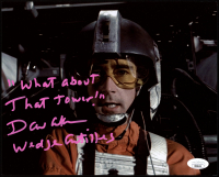 """David Ankrum Signed """"Star Wars: Episode IV – A New Hope"""" 8x10 Photo Inscribed """"What about that tower!"""" & """"Wedge Antilles"""" (JSA Hologram) at PristineAuction.com"""