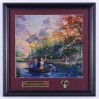 "Thomas Kinkade ""Pocahontas"" 16x16 Custom Framed Print Display with Pocahontas Pin at PristineAuction.com"