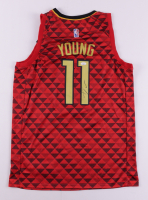 Trae Young Signed Hawks Jersey (JSA COA) at PristineAuction.com