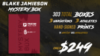 Blake Jamieson Exclusive LE Framed Premium Art Mystery Box at PristineAuction.com