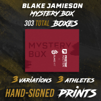 Blake Jamieson Exclusive LE Signed & Framed Premium Art Mystery Box at PristineAuction.com