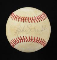Mike Schmidt Signed ONL Baseball (JSA COA) (See Description) at PristineAuction.com
