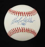 "Bob Feller Signed OAL Baseball Inscribed ""1991"" (JSA COA) (See Description) at PristineAuction.com"