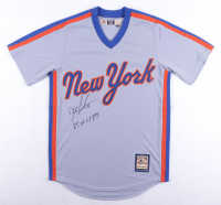 """Dwight """"Doc"""" Gooden Signed New York Mets Jersey Inscribed """"85 NL Cy Young"""" (Schwartz Sports COA) (See Description) at PristineAuction.com"""