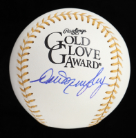 Dale Murphy Signed Gold Glove Award Baseball (PSA COA) at PristineAuction.com