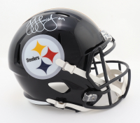 JuJu Smith-Schuster Signed Steelers Full-Size Speed Helmet (Beckett COA) at PristineAuction.com