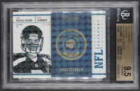 Russell Wilson 2012 Prestige NFL Passport Holokote #31 RC #34/100 (BGS 9.5) at PristineAuction.com