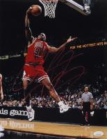 Dennis Rodman Signed Bulls 11x14 Photo (JSA COA) at PristineAuction.com
