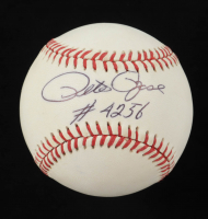 "Pete Rose Signed ONL Baseball Inscribed ""# 4256""  (JSA COA) at PristineAuction.com"