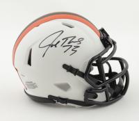 Joe Thomas Signed Browns Lunar Eclipse Alternate Speed Mini Helmet (Schwartz Sports COA) at PristineAuction.com