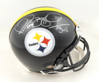 """Jerome Bettis Signed Steelers Full-Size Authentic On-Field Helmet Inscribed """"Bus"""" (JSA COA) at PristineAuction.com"""