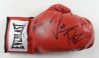 "Vinny Paz Signed Everlast Boxing Glove Inscribed ""The Pazmanian Devil"", ""5x!"" & ""2021"" (Schwartz Sports Hologram) at PristineAuction.com"