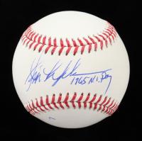 "Jim Lefebvre Signed OML Baseball Inscribed ""1965 NL ROY"" (Schwartz Sports COA) at PristineAuction.com"