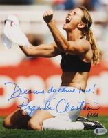 "Brandi Chastain Signed Team USA 8x10 Photo Inscribed ""USA"" (Beckett COA) at PristineAuction.com"