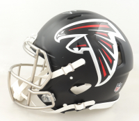 Michael Vick Signed Falcons Full-Size Authentic On-Field Speed Helmet (Beckett Hologram) at PristineAuction.com