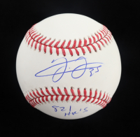 "Frank Thomas Signed OML Baseball Inscribed ""521 HR's"" (Schwartz Sports COA) at PristineAuction.com"