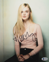 Elle Fanning Signed 8x10 Photo (Beckett COA) at PristineAuction.com