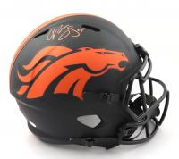 Champ Bailey Signed Broncos Full-Size Eclipse Alternate Speed Helmet (Beckett COA & Denver Autographs COA) at PristineAuction.com