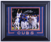 Hector Rondon Signed Cubs 14.5x17.5 Custom Framed Photo (Schwartz Sports COA) at PristineAuction.com