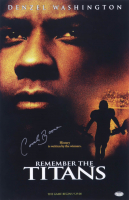 """Herman Boone Signed """"Remember The Titans"""" 11x17 Movie Poster Print (Schwartz Sports COA) (See Description) at PristineAuction.com"""