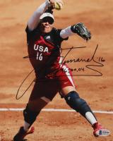 "Lisa Fernandez Signed Team USA 8x10 Photo Inscribed ""96, 00, 04"" (Beckett COA) at PristineAuction.com"
