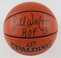 "Bill Walton Signed NBA Game Ball Series Basketball Inscribed ""HOF 93"" (Schwartz COA) at PristineAuction.com"