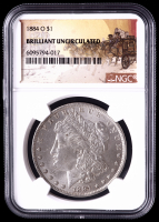 1884-O Morgan Silver Dollar (NGC Brilliant Uncirculated) at PristineAuction.com