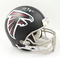 Julio Jones Signed Falcons Full-Size Authentic On-Field Helmet (Beckett COA & Denver Autographs COA) (See Description) at PristineAuction.com