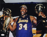 Shaquille O'Neal Signed Lakers 11x14 Photo (JSA COA) at PristineAuction.com